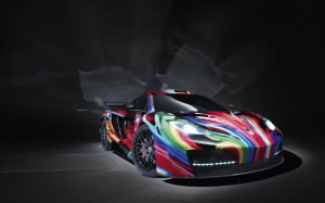 Hamann McLaren MP4-12C memoR front three quarter view