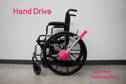 hand-drive-wheelchair