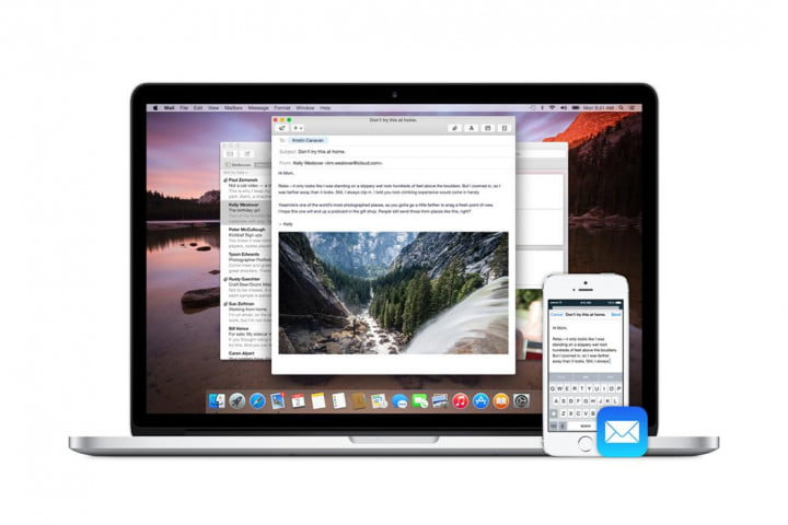 apple handoff news gallery mail