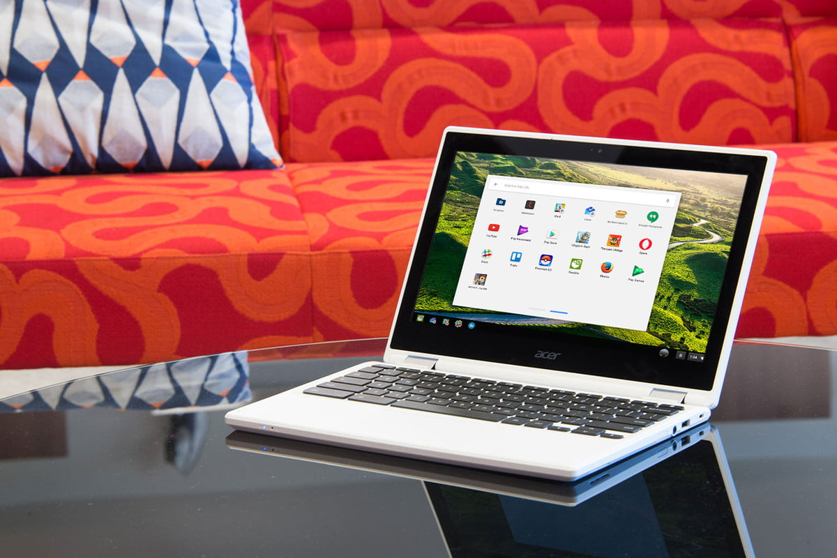 google android chrome os andromeda hands on  apps for chromebook