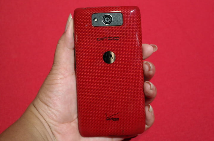 motorola droid ultra review hands on back