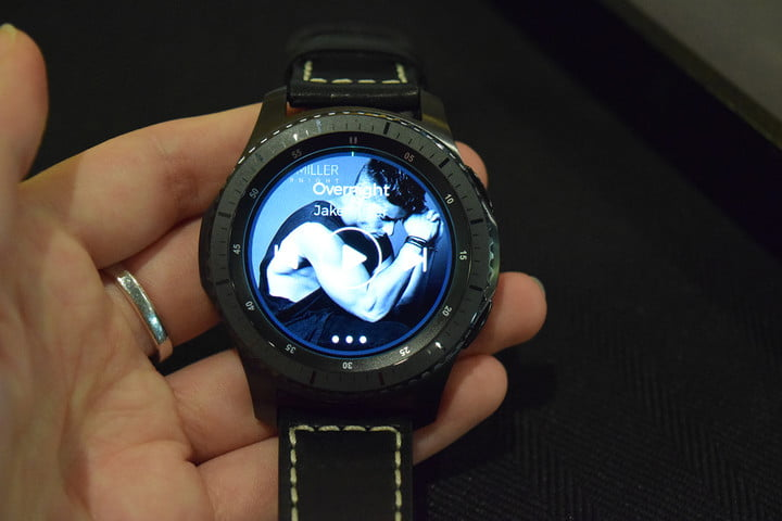 samsung gear s  smartwatch news hands on classic and frontier