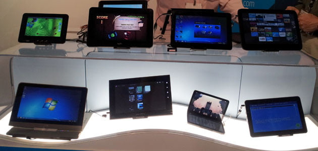 hands on with intels tablets