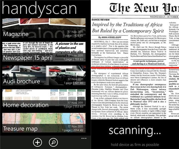 Handyscan-screenshot