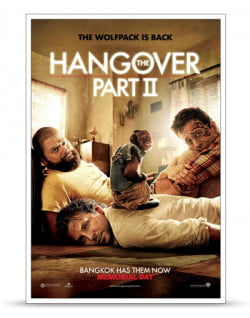 Hangover part 2 poster