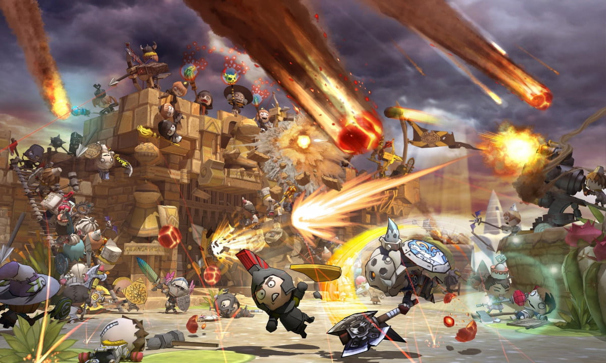 multiplayer action rpg happy wars coming xbox one