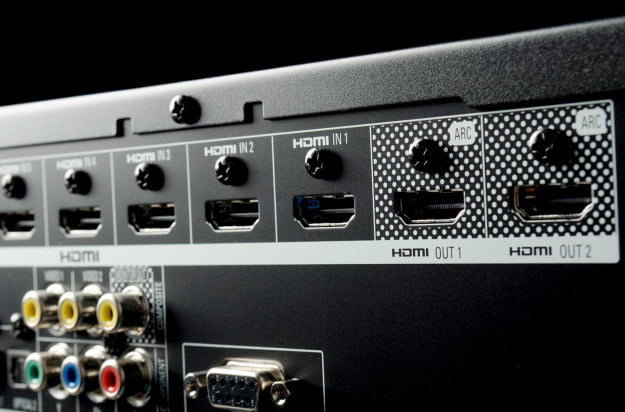 Harman Kardon AVR 3700 review HDMI ports