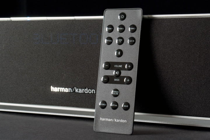 harman kardon sabre sb  review remote