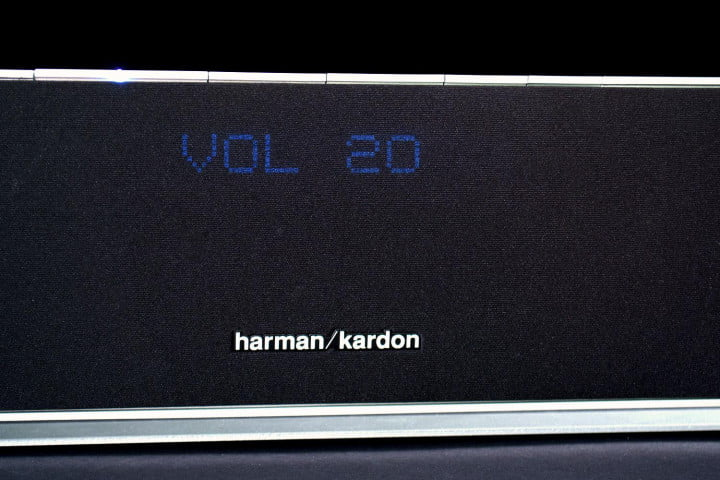 harman kardon sabre sb  review volume