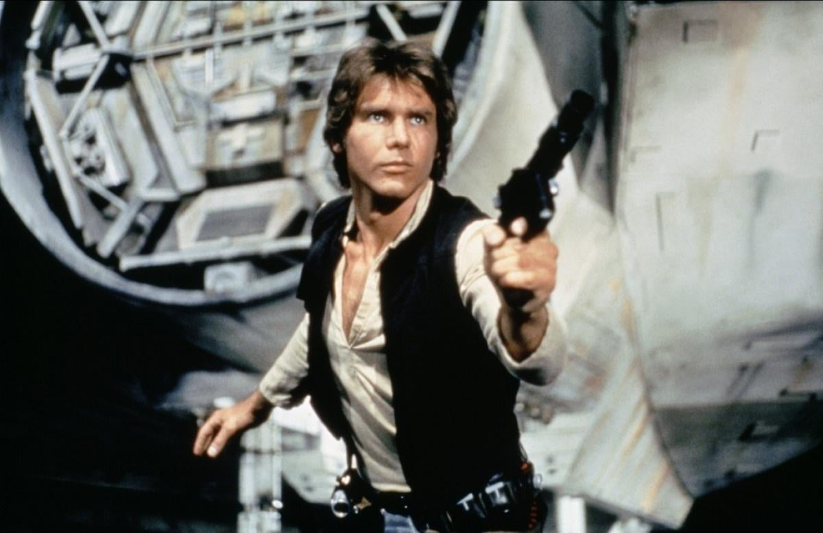 star wars episode viis scruffy looking nerf herder revealed harrison ford han solo