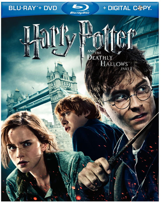 harry potter and the deathly hallows part  blu ray