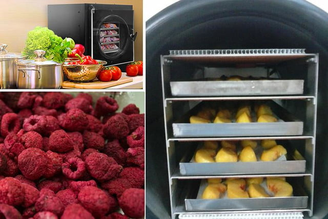 harvest right in home freeze dryer