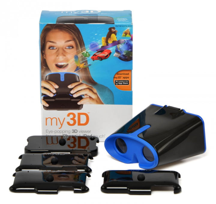 Hasbro my3D viewer package