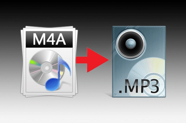 how to convert m a files mp  format header