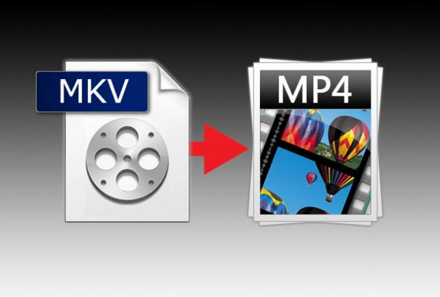 how to convert mkv files mp  format header