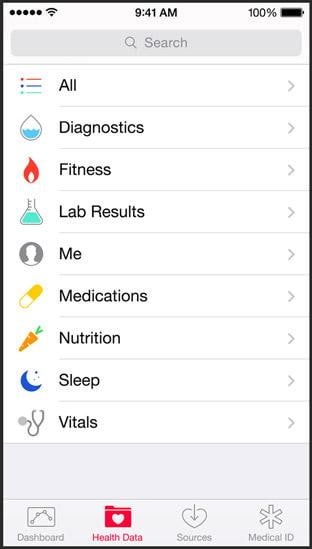 apple health news screen calories burned