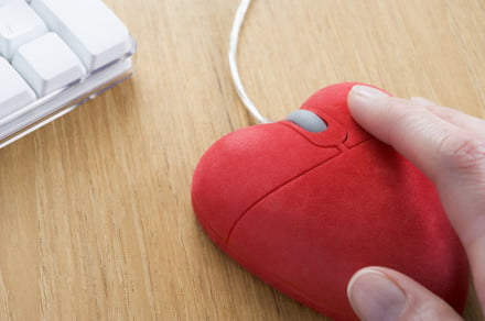 Heart shaped mouse online dating