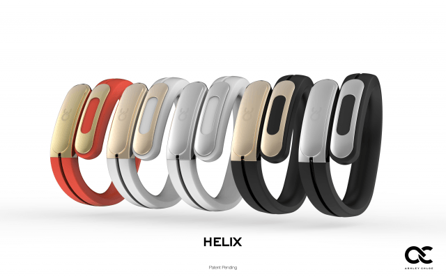 helix cuff bracelet bluetooth earbuds colors
