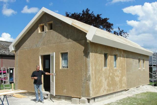 green building material hempcrete could catch on in u s house
