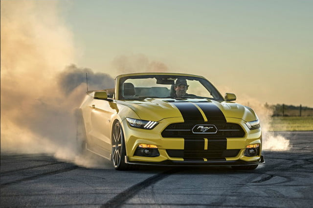 Hennessey SEMA HPE750 Mustang Convertible