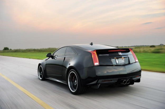 Hennessey VR1200 Twin Turbo Coupe rear three-quarter motion