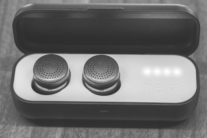 two weeks on the road with here active listening system earbuds caseopen v