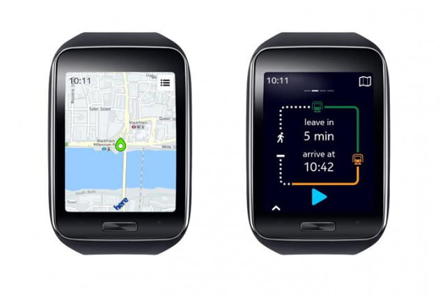 Here Maps Samsung Gear S