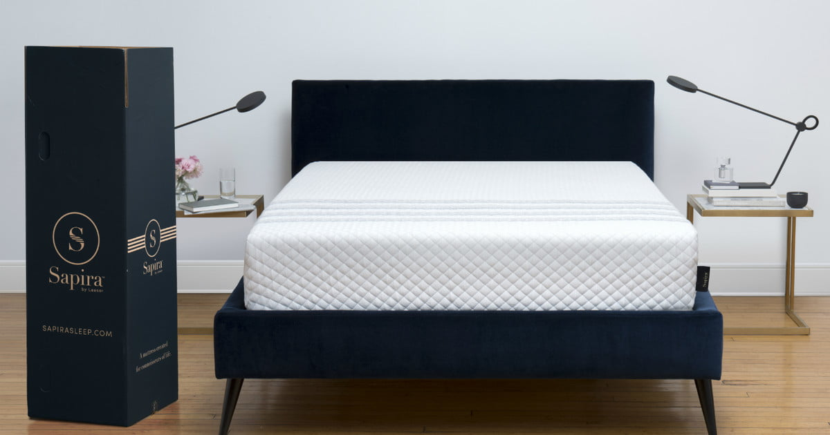 leesa introduces its luxury sapira mattress in a box. Black Bedroom Furniture Sets. Home Design Ideas