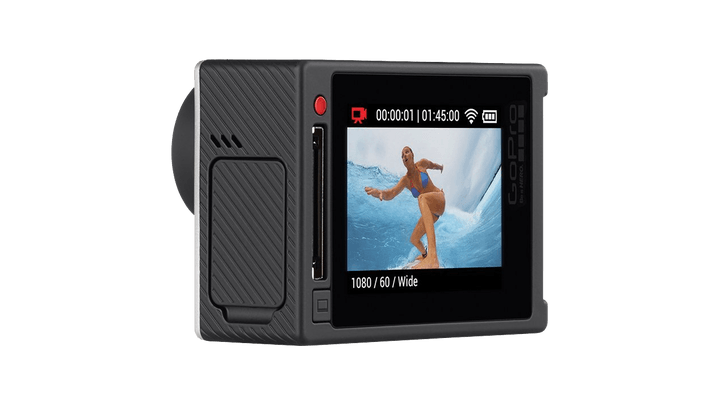 best action cams hero  silver