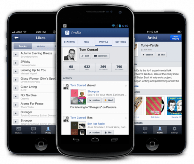 pandora scraps  hour mobile limit ahead of itunes radio launch