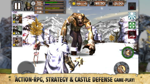 Best iPhone Games: Heroes and Castles