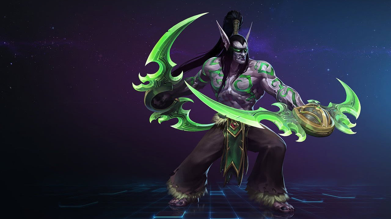 heroes of the storm how to party search