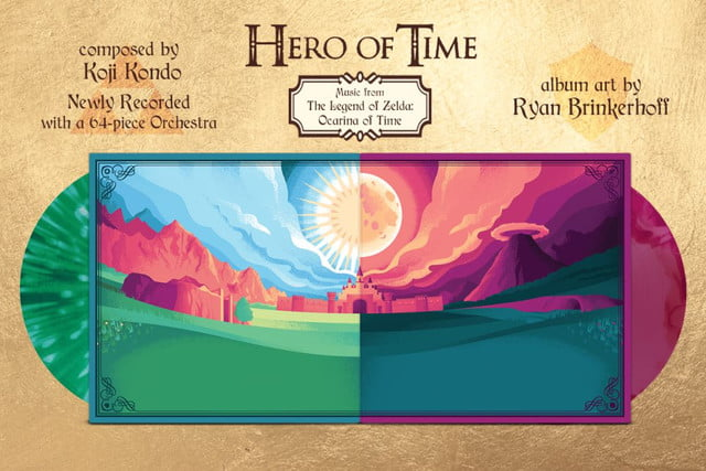 hero of time album delivers orchestrated music from zelda ocarina herooftime