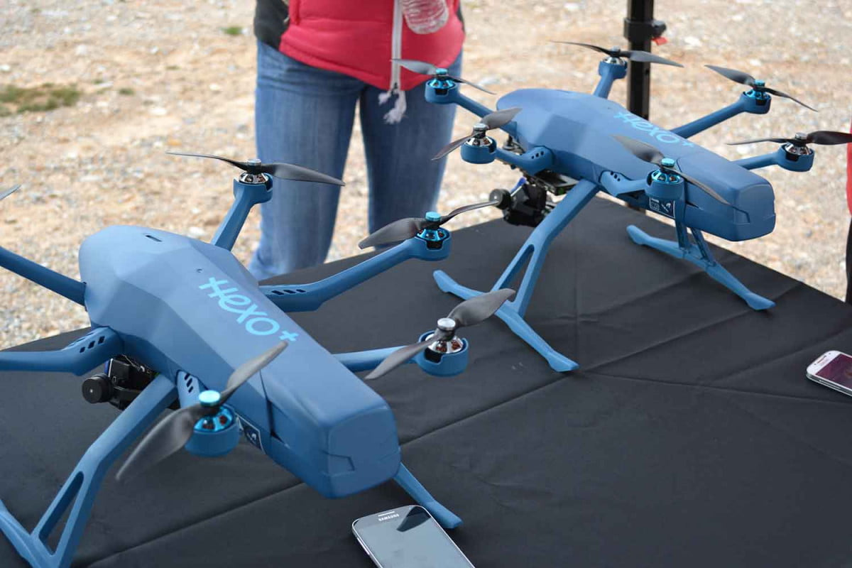 unknown drone company roundup ces  hexo