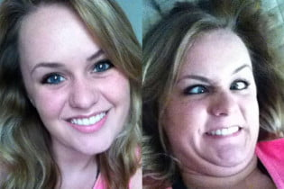 hot girls ugly faces
