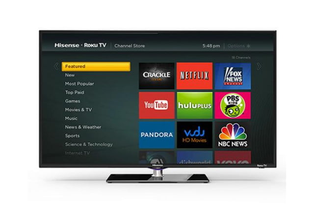 roku breaks outside box introduces tv hisense rokutv final