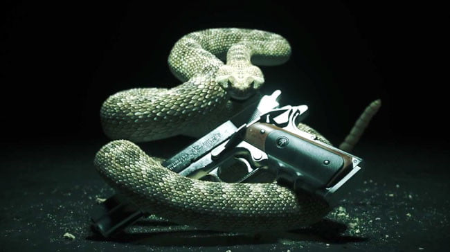 Hitman Absolution Snake Gun