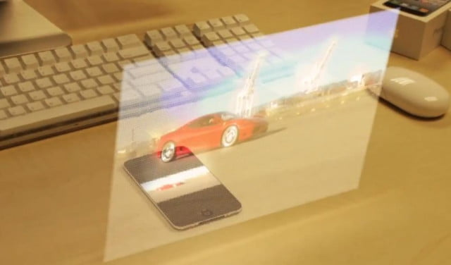 next smartphone buy holographic projector inside hologram iphone