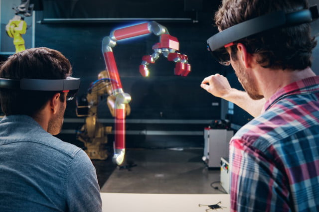 rise of the hmds hololens autodesk fusion  hero