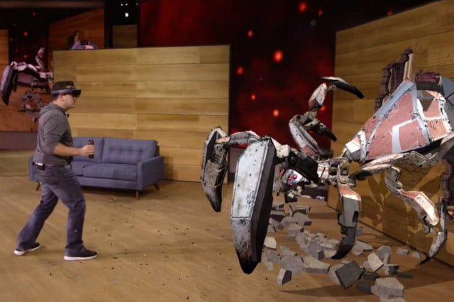 microsoft demonstrates hololens with project x ray