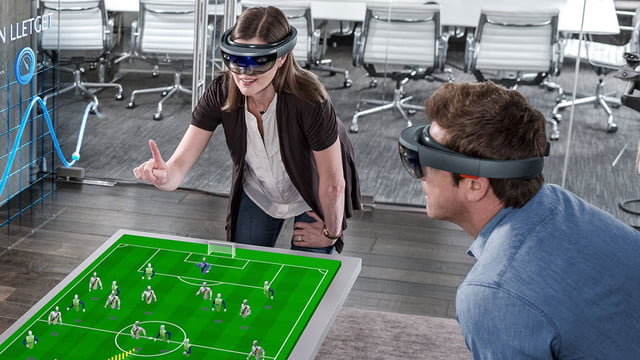 microsoft releases holojs for holoens augmented reality apps hololenshome feat