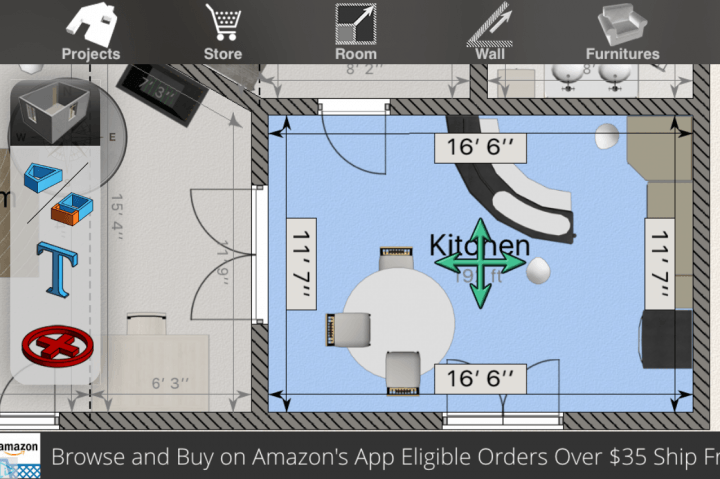 apps and sites that give you a  d view of your home design app