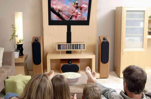 Home Theater crash course high mounted tv