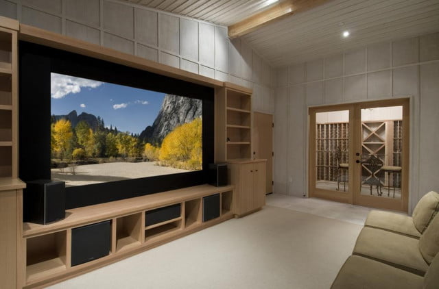 would you rent a same day theatrical release for  napster founder is betting yes home theater feature