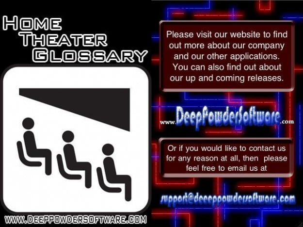 home theater glossary app