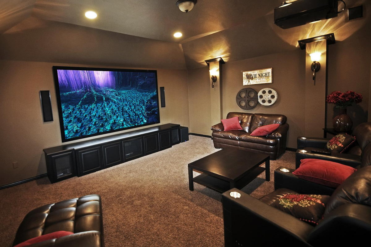 k home theater under