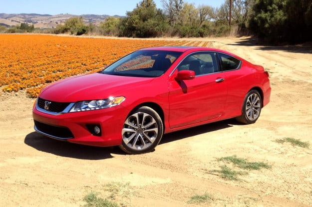 Honda Accord 2013 review exterior left side angle coupe