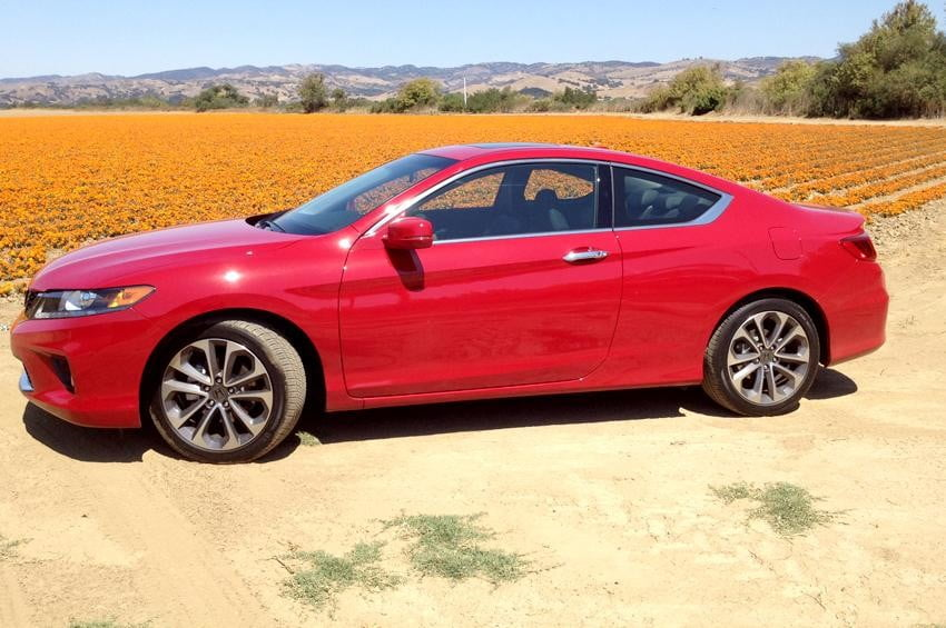 Honda Accord 2013 review exterior right side coupe