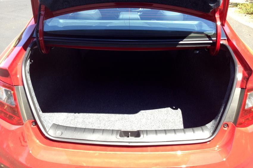 Honda Accord 2013 review exterior trunk coupe
