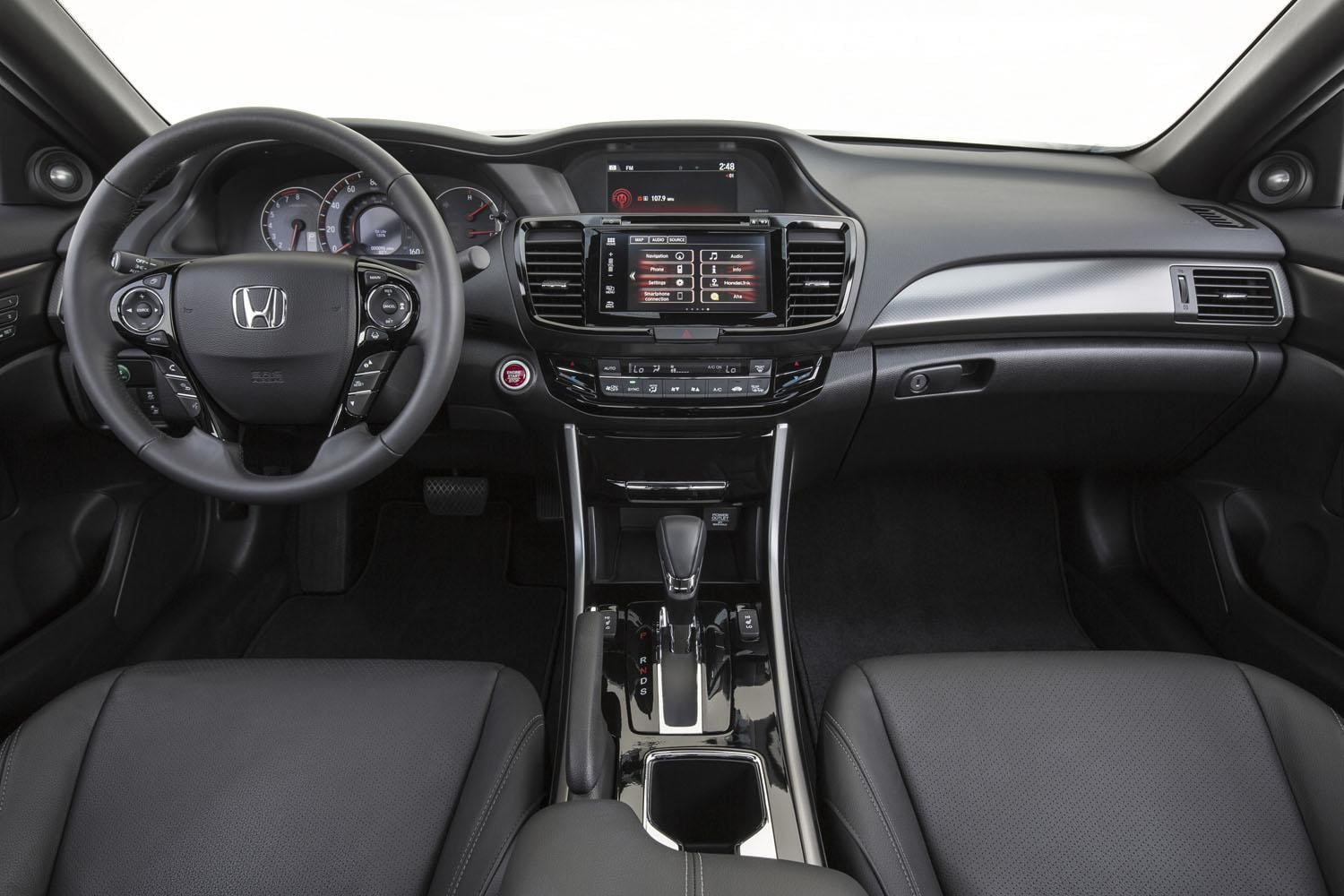 For 2016, the sleek Honda Accord Coupe gets an upscale new look, more ...